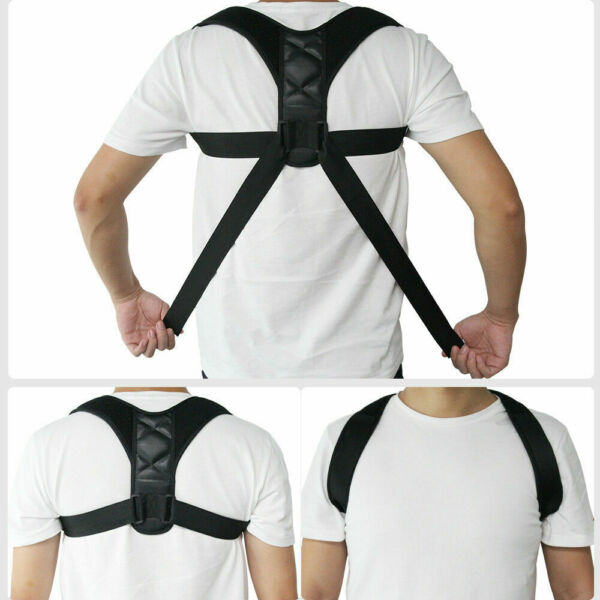 Posture Corrector Adjustable Medical Clavicle Back Support Brace For Men & Women