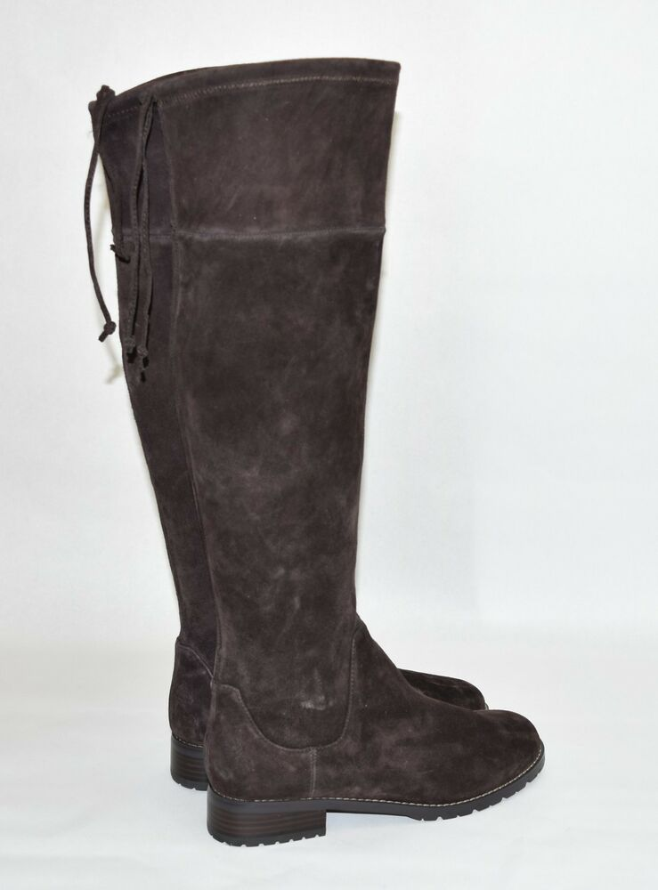 b9f00b364a0 New! Blondo Snow Tall Boot Brown Suede B5179 Size 10 CC23A | eBay