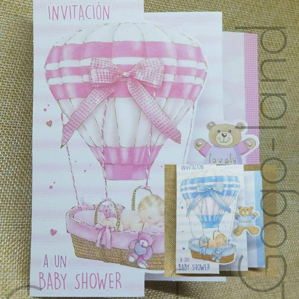 000e0f3ff5f85 Details about 50 Invitaciones Baby Shower Para Niña Niño Español Baby Shower  Invitations