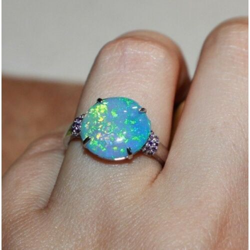fire-opal-cz-ring-gemstone-silver-jewelry-75-8-cocktail-engagement-wedding-band