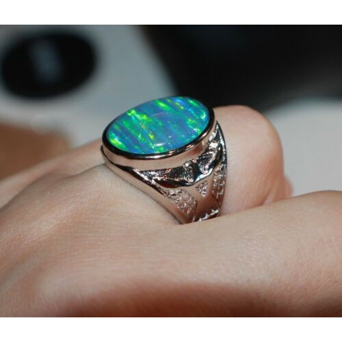 blue-fire-opal-ring-575-6-7-gemstone-silver-jewelry-men-women-evening-cocktail