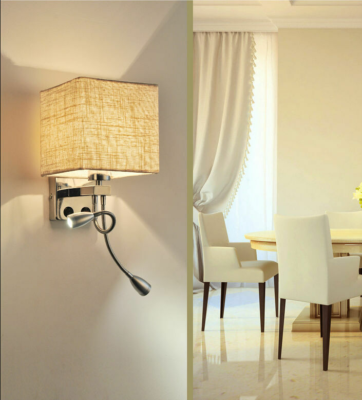 modern led wall desk light bed l reading light hotel 14462 | s l1000