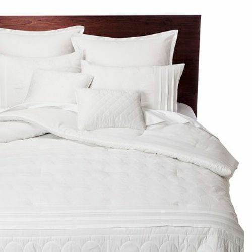 Colette 8 Piece Comforter Set Cal King White Nwt Fs 490602605848