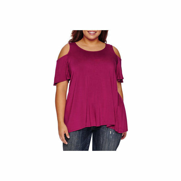 Boutique + Manche Courte Col Rond Tricot Blouse-Plus Taille 3X Neuf Pdsf