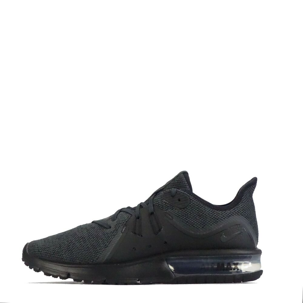cheap for discount cb58e 4adda Details about Nike Air Max Sequent 3 Mens Trainers Black  Anthracite