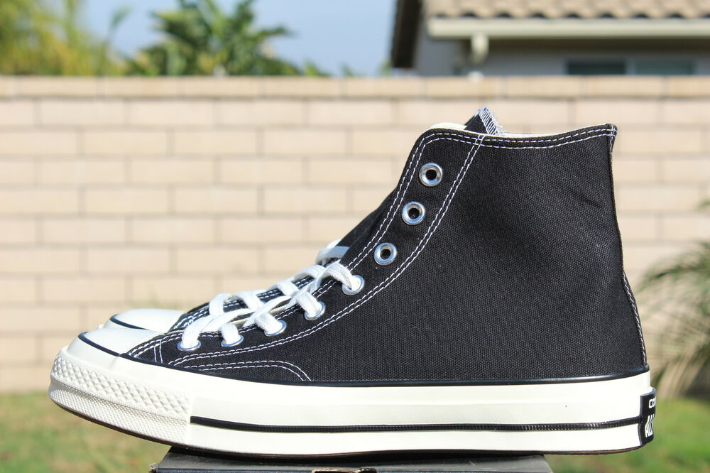 0b9a6dfeabbb Details about CONVERSE CHUCK TAYLOR ALL STAR HI 70 OX SZ 7 BLACK OXFORD CT  1970 142334C