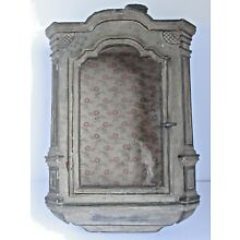 Antique 18th Century French  Hanging Cabinet  or Shrine