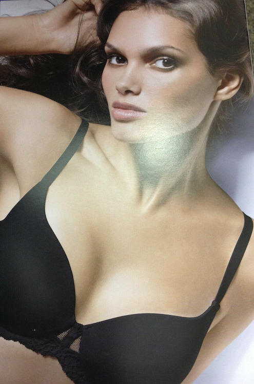 7e2780f37 Details about Wolford Velvet Lace Cup Bra Size US 38A Color  Cream Tan  60939 - 12
