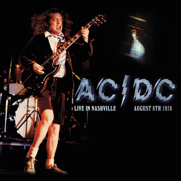 AC/DC Live In Nashville August 8th 1978 LP Vinyl Record