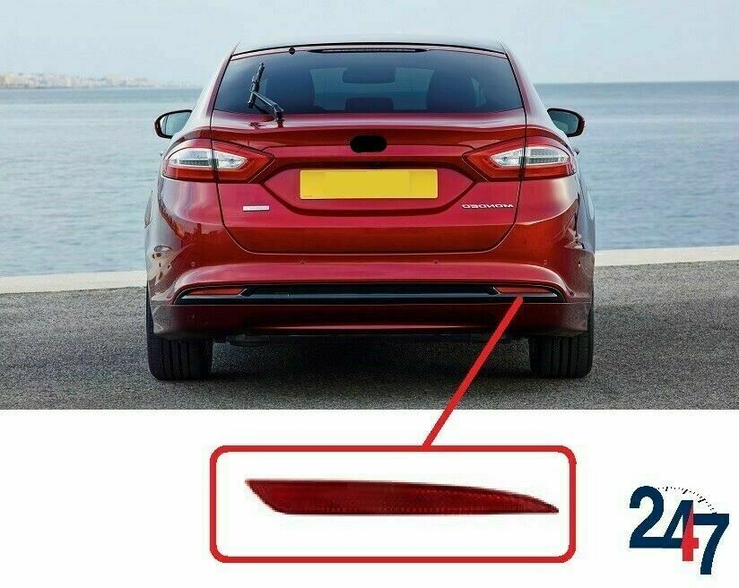 Details About New Ford Mondeo Fusion Rear Per Red Reflector Light Right O S