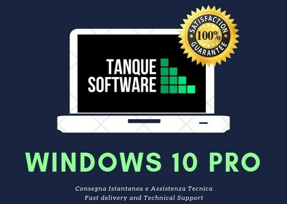 Windows 10 Pro - OEM - 64/32 bit - Scrap PC