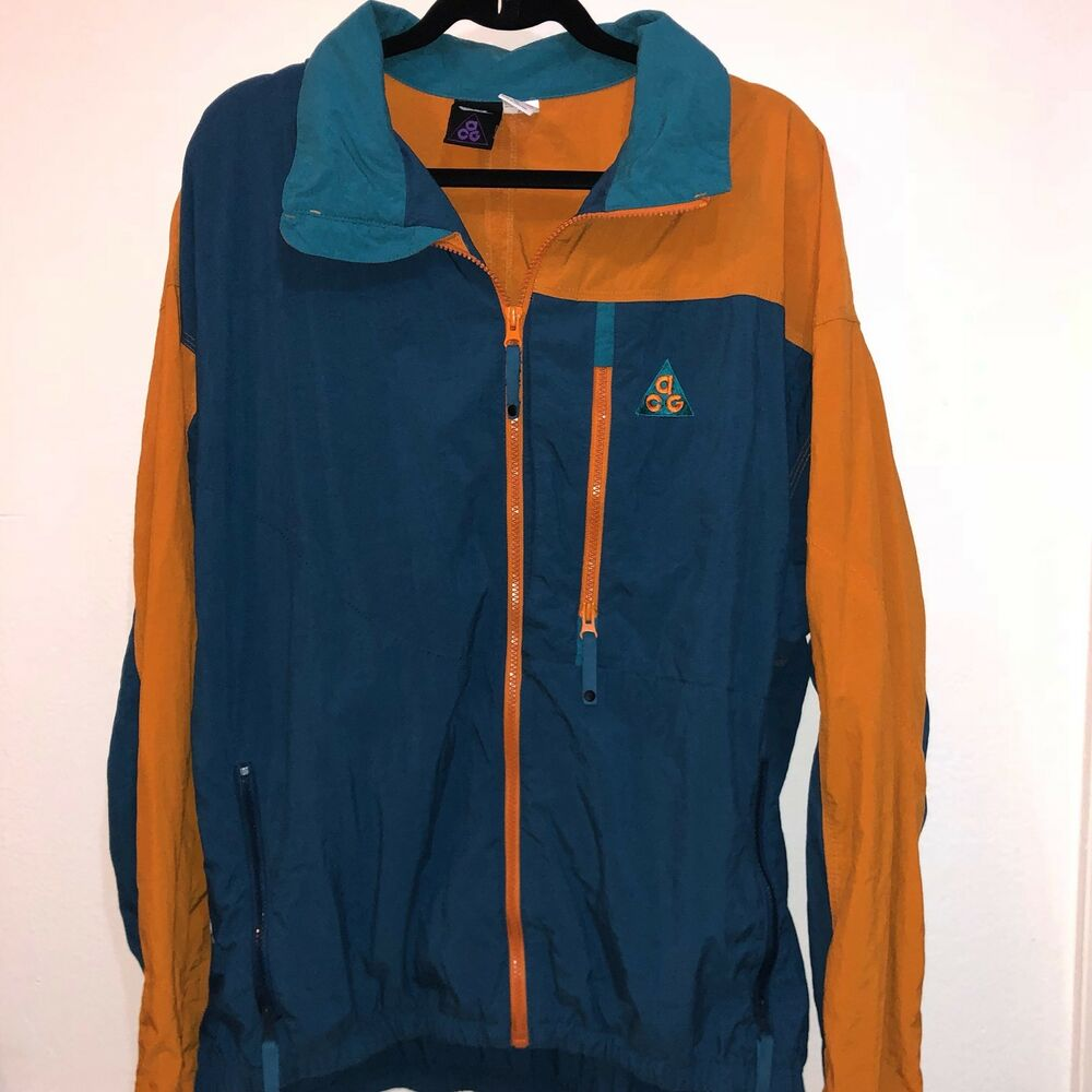 cb1173672afd Details about Vintage 80s 90s Nike ACG Rare Up XL Retro Windbreaker Jacket  Mowabb Og