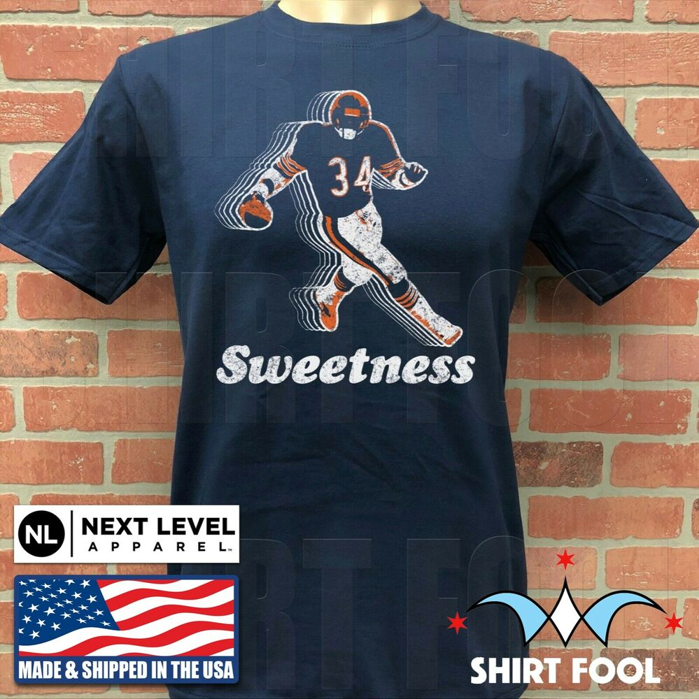 Details about CHICAGO BEARS WALTER PAYTON    SWEETNESS    T-SHIRT 03ada6ee774e