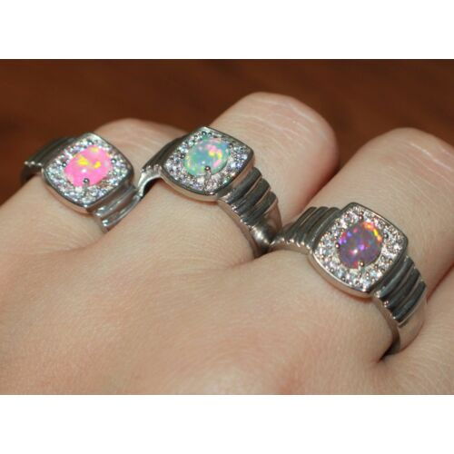 fire-opal-cz-ring-gems-silver-jewelry-6-75-8-cocktail-engagement-wedding-band