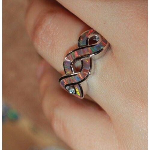 inlaid-fire-opal-ring-gemstone-silver-jewelry-675-75-8-cocktail-wedding-band