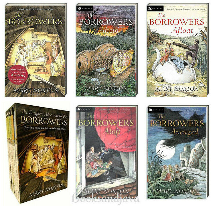 The Borrowers Box Set 1 5 Borrowers Afield Afloat Aloftavenged By