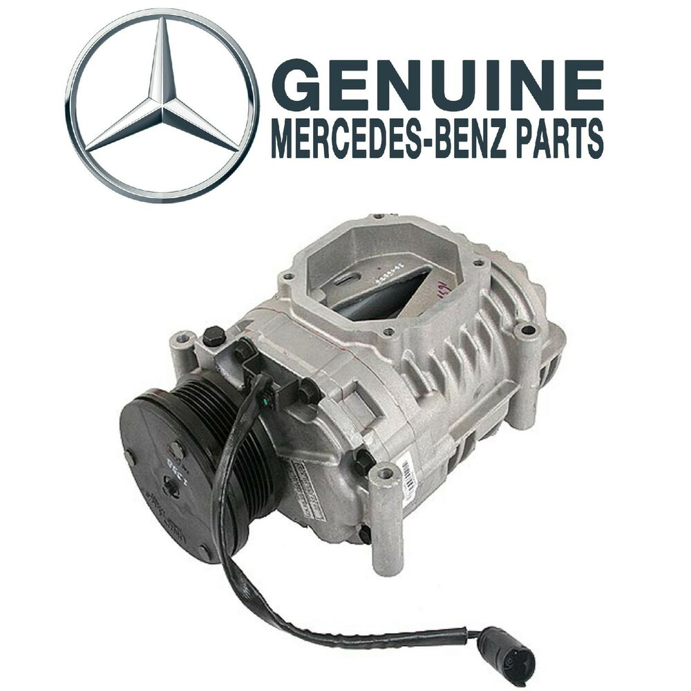 for mechanical supercharger with electric clutch genuine for