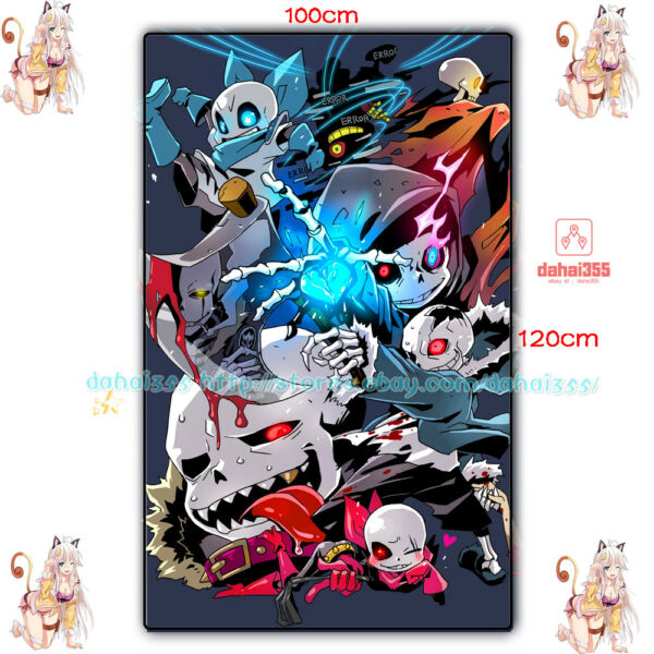 Blanket Birthday Game Undertale Sans  Flannel Plush Travel Gift 100*120cm #S6