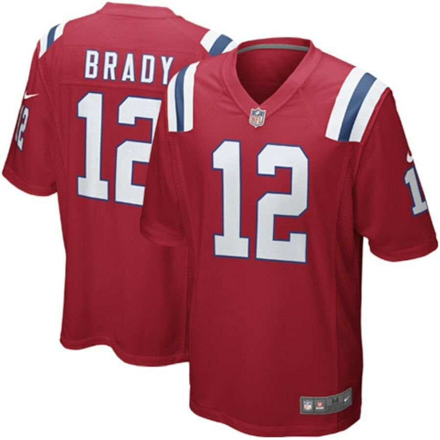 f43b4d74777 Details about Tom Brady Jersey-New England Patriots- Nike Authentic Youth  Jersey- New w  tags