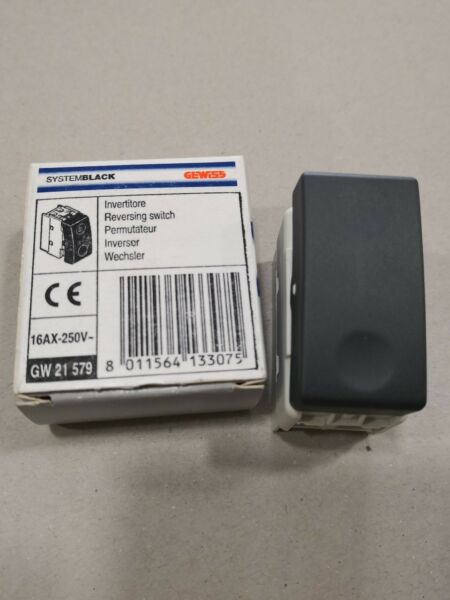 GEWISS SYSTEM BLACK GW21579 INVERTITORE 16AX