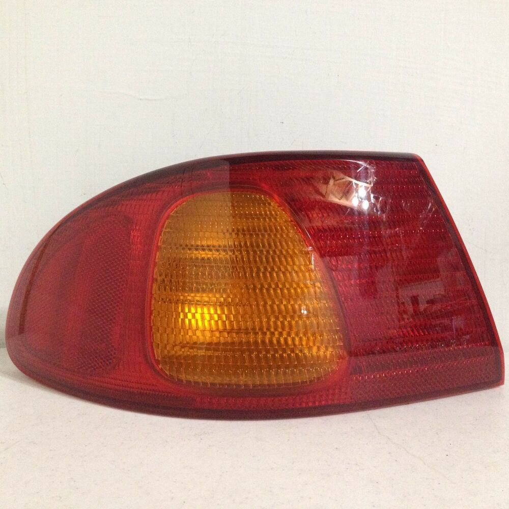 2001 Toyota Corolla Tail Lights: 1998 1999 2000 2001 2002 Toyota Corolla LH Left Driver
