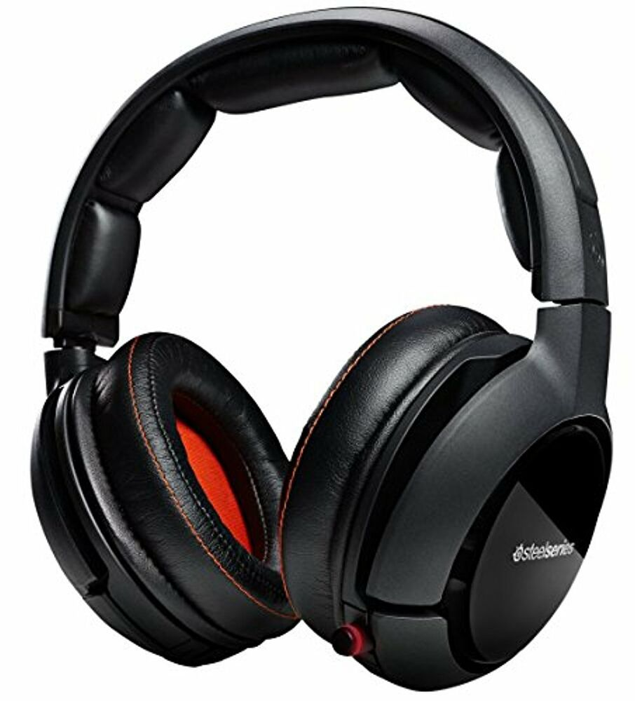 Steelseries Siberia P800 Wireless Gaming Headset W Dolby 71 350 Black Surround Sound 800265803596 Ebay