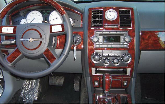 Chrysler 300 300c 2 7l 3 5l hemi interior wood dash trim - Chrysler 300 interior accessories ...