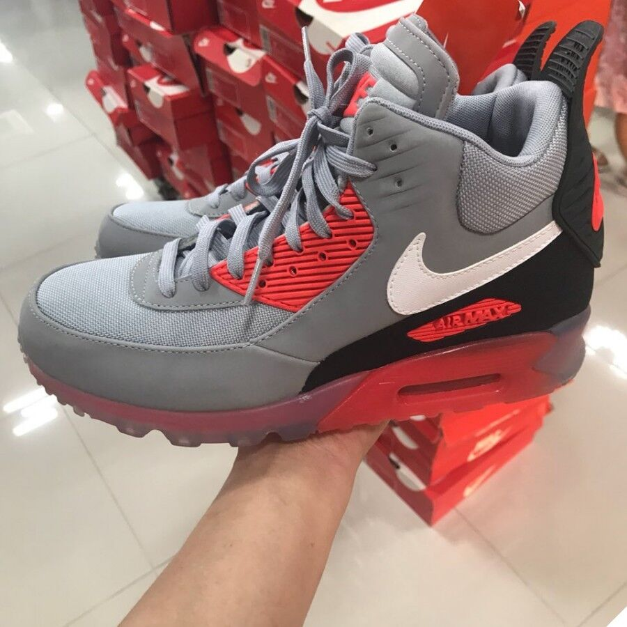 e4992be9b03f Nike Air Max 90 Sneakerboot Ice Shoes Limited 684722-006 Men s Sz 8 ...