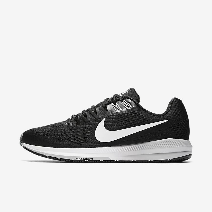 online store 342be d4c63 Details about Nike Air Zoom Structure 21 Black White Grey 904695-001 Men s  Running Shoes NEW!