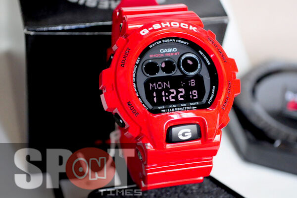 7e2bc21733122 Details about Casio G-Shock Red Theme Vivid Design Men s Watch GD-X6900RD-4
