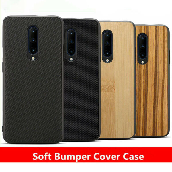 For OnePlus 6 5T 5 6T 7 Shockproof Carbon Fiber Nylon Slim Protective Case Cover