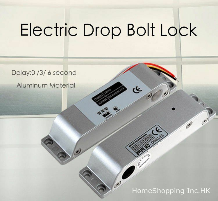 Dc12v Electric Drop Bolt Lock For Door Access Control System Use Fail Safe 699998423429 Ebay