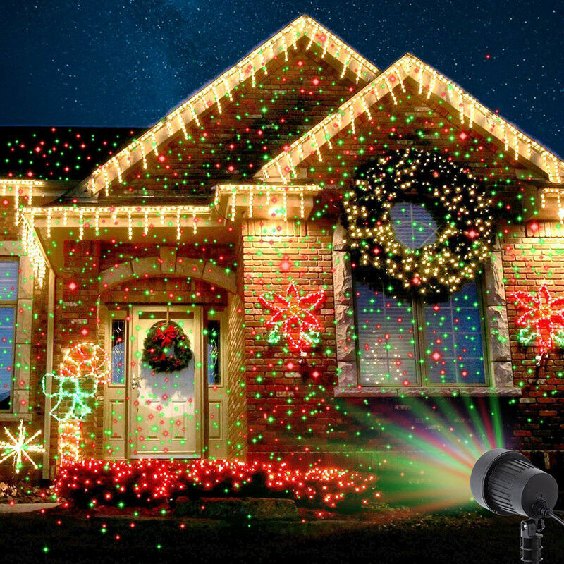 Details about Light Laser Outdoor Christmas Fairy Projection Projector  Decor Star Decoration - Light Laser Outdoor Christmas Fairy Projection Projector Decor Star