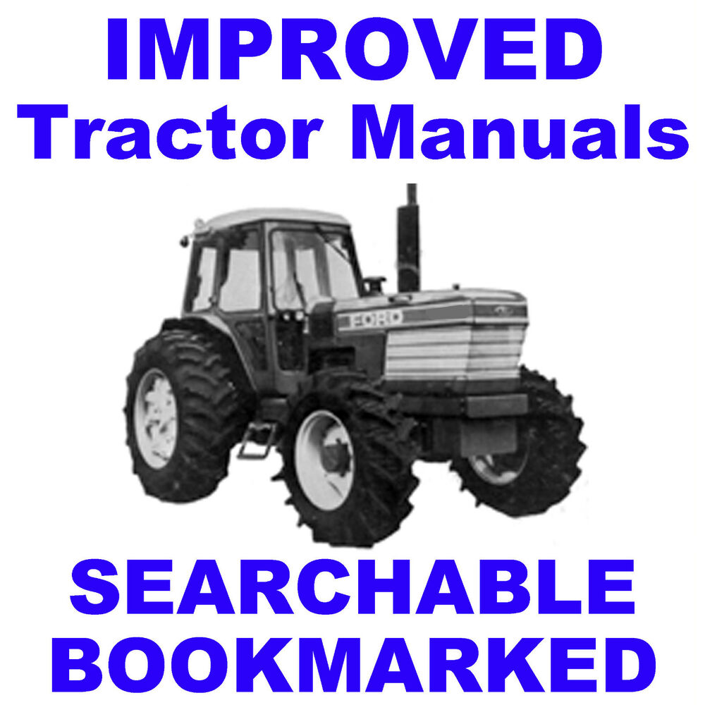 FORD TW-10, TW-20, TW-30, TW10, TW20, TW30 Tractor Service SHOP Repair  Manual CD | eBay