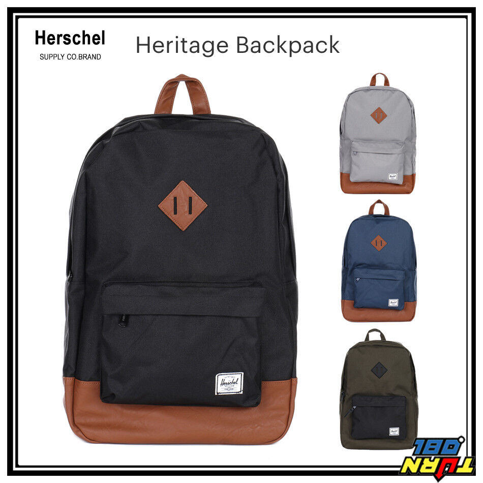 a47c6bc711a1 Details about Herschel Supply Co. Heritage Backpack w Laptop sleeve 15