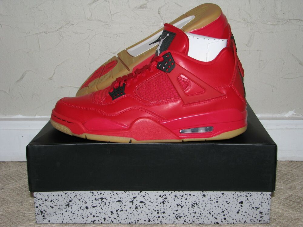 637a9393c7e Details about Nike Air Jordan 4 IV Retro Singles Day Fire Red Men's 9.5 /  Women's 11 DS NEW!
