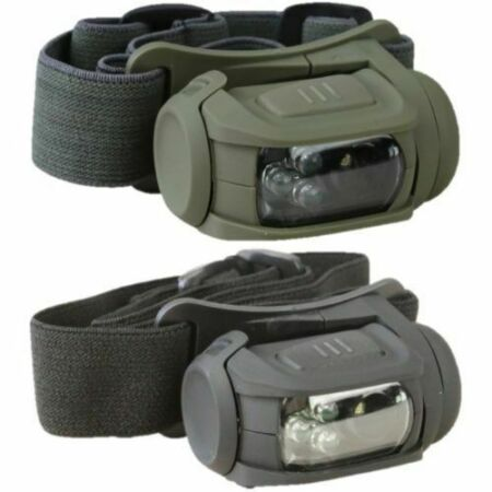 img-TACTICAL PREDATOR HEADLAMP II LED HEAD TORCH WHITE RED LIGHT CADET ARMY