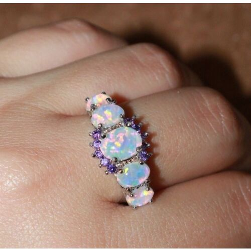 fire-opal-cz-ring-gemstone-silver-jewelry-4-85-9-95-11-engagement-wedding-band