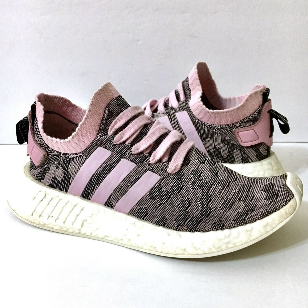 Details about ADIDAS NMD R2 Women s Boost Primeknit Running Training Shoes  BY9521 Pink Sz 6.5 d9e6bf42e