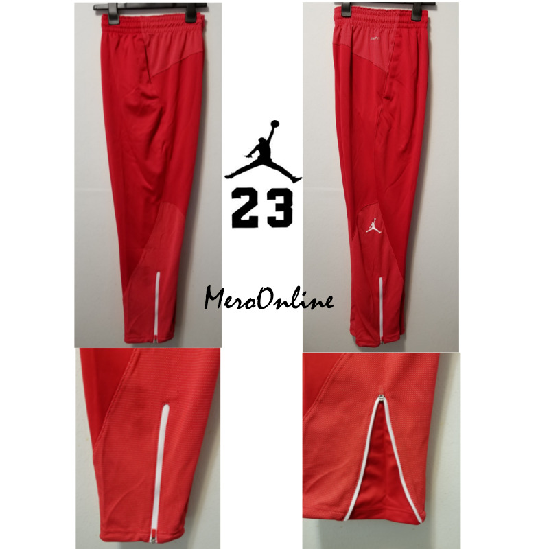 cf2b95a171b61c Details about SZ SMALL COOL 🆕🔥 Nike Jordan Flight Team Men s Basketball  Pants Red 696734-657