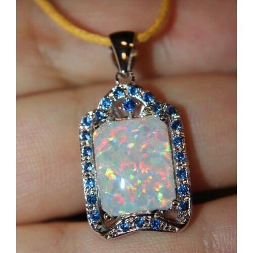 white-fire-opal-cz-necklace-pendant-gemstone-silver-jewelry-classic-cocktail-cc1