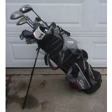 TITLEIST GOLF BAG AND CLUBS AND OTHER CLUBS CALLAWAY BIG BERTHA LOCAL PICK UP