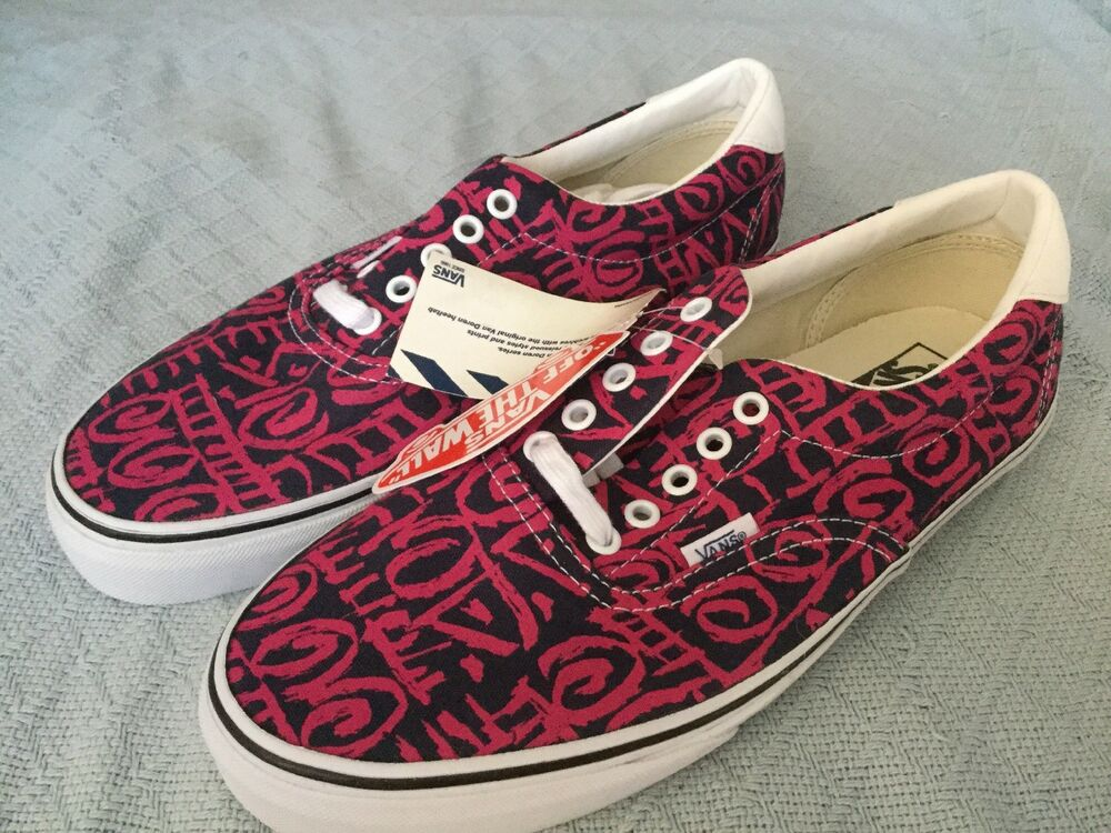 c46b49feeb Details about AUTHENTIC VANS VAN DOREN ERA 59 TRIBAL BLUE PINK MENS SHOES  MENS 12 WOMENS 13.5
