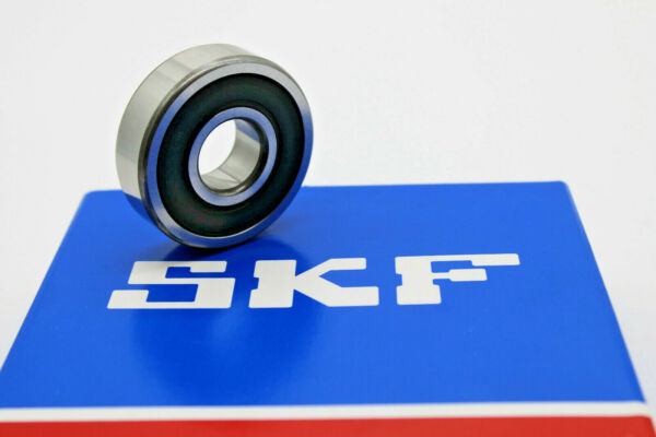 Markenware SKF 2 Kugellager 6006 2RS 30 x 55 x 13 mm