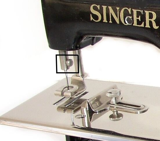 Singer 40 Toy Child Sewhandy Sewing Machine Parts 40NEEDLE CLAMP Fascinating Needle Clamp Sewing Machine Definition