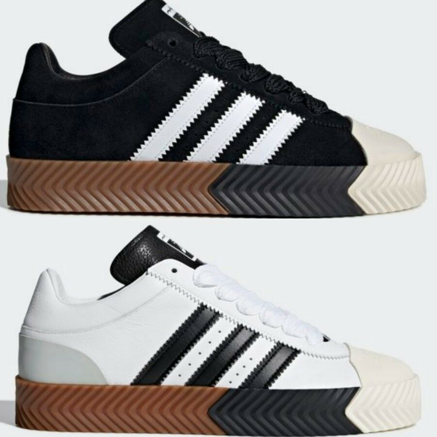 the latest 6bc86 82d63 Adidas x Alexander Wang Skate Super Shoes Black White F35295 G28385 Size  5-13  eBay