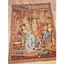ANTIQUE FRENCH TAPESTRY,  Early 1900'S~ 50
