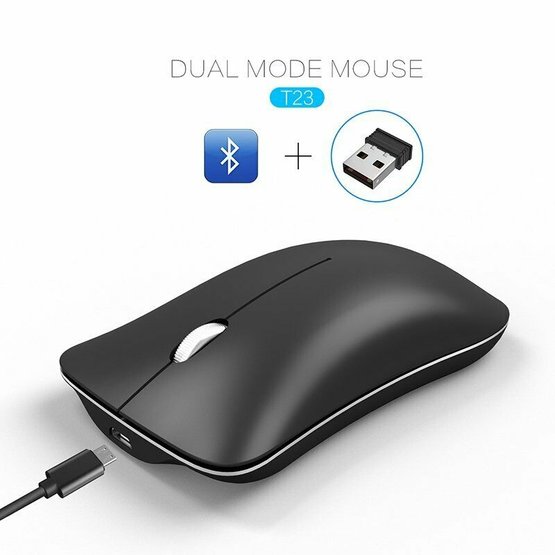 8f72037c298 Details about Mini 2.4G Bluetooth 4.0 USB Dual Mode 1600DPI Photoelectric  Wireless Mouse Mice