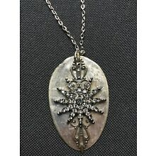 HANDCRAFTED VINTAGE SPOON STEAMPUNK NECKLACE PENDANT