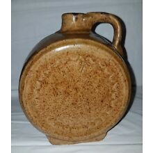 Antique Stoneware Canteen Shaped Jug